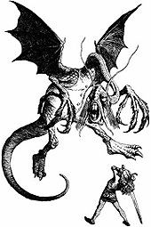 getting this on my arm, half sleeve. alice slaying the jabberwocky ...