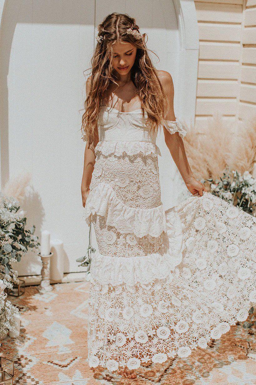 9d0cb3f146e0 Isabell Andreeva wears Spell Bride Estelle Gown