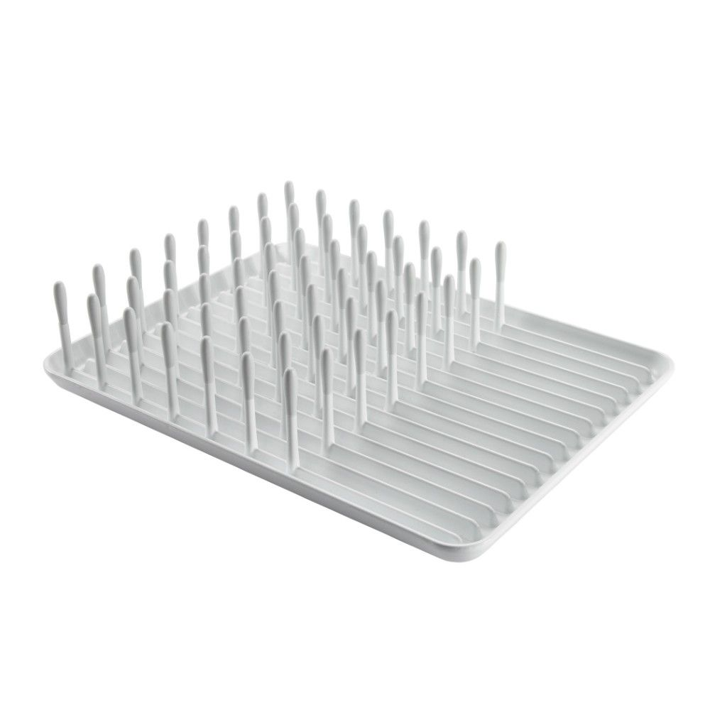 Keep your dishes secure and upright with the oxo dish rack