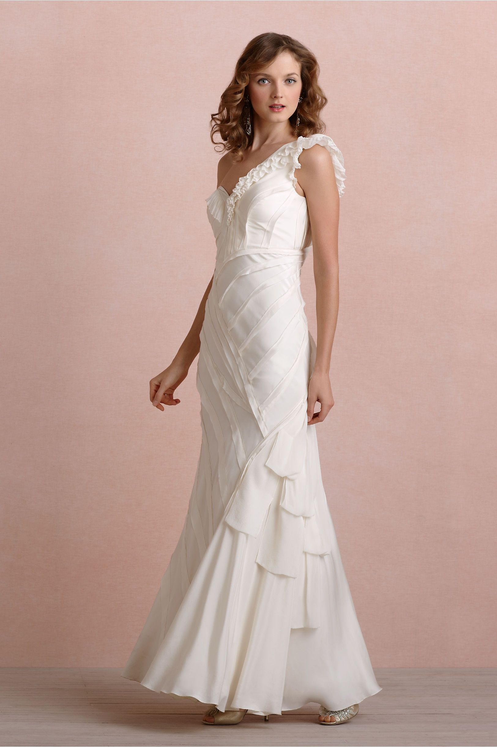 Ribboned Silk Gown from BHLDN - My absolutely lovely and perfect ...