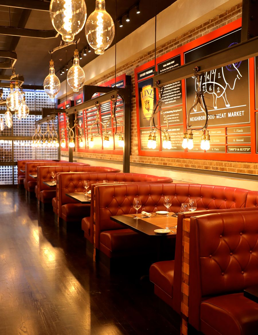 At 9000 Square Feet The New Little Alley Steak On Lenox Road In