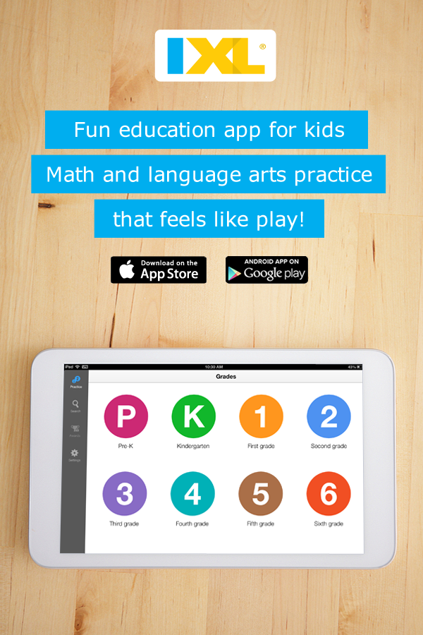 Math and language arts practice at your fingertips! Free app for K ...