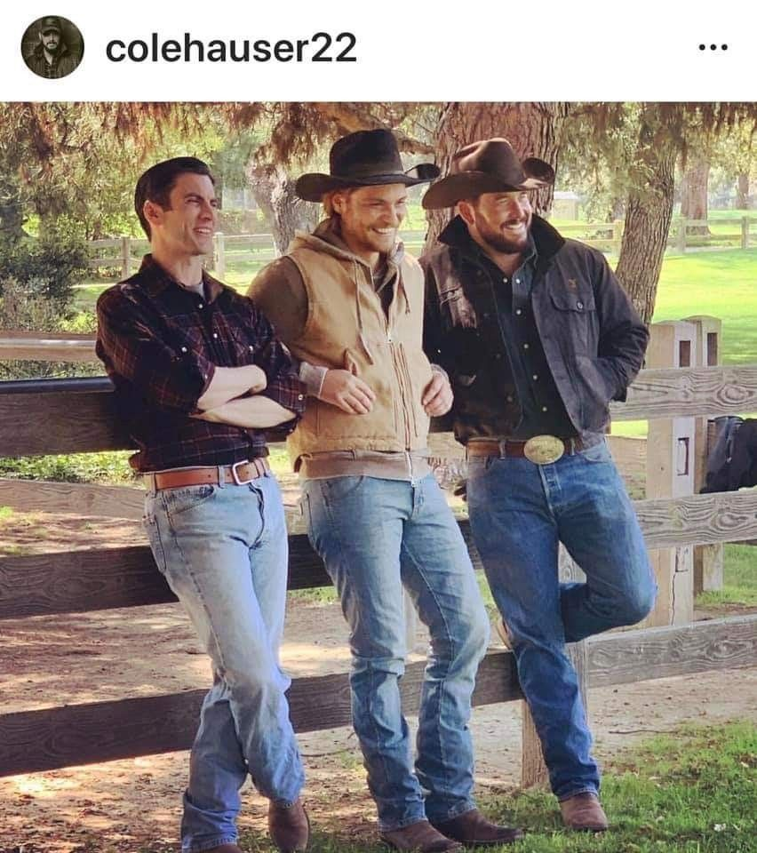 Yellowstone Tv Series Cowboy Outfit For Men Cole Hauser Cowboy Outfits