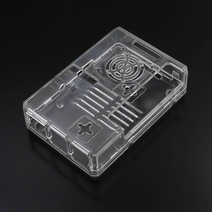 ABS Enclosure Case for Raspberry Pi 3B / 2B / B+ with Fan Hole - Transparent. Find the cool gadgets at a incred