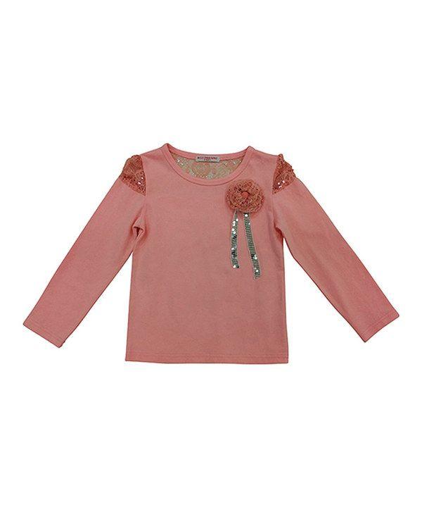 Love this Mini Treasure Kids Pink Lexi Top - Toddler & Girls by Mini Treasure Kids on #zulily! #zulilyfinds