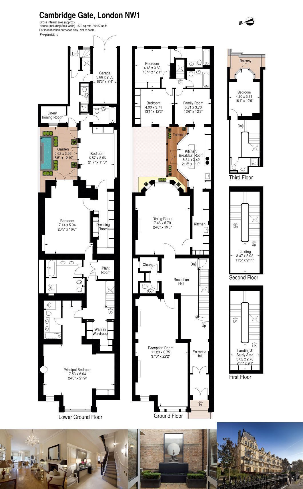 Cambridge Gate Regent S Park London Nw1 5 Bedroom Flat For Sale 45491578 Primelocation Mansion Floor Plan Apartment Floor Plans London Mansion