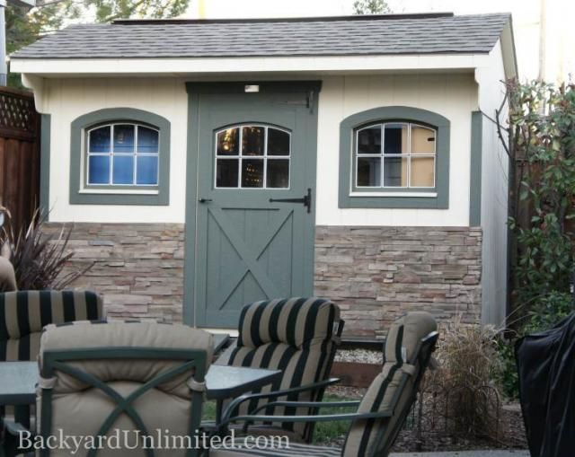 8 39 x12 39 quaker shed with arched windows ridge vent and for Quaker barn home designs