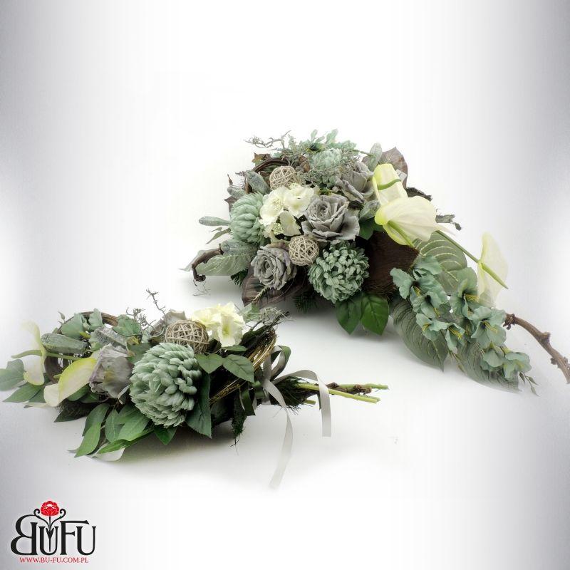 Swieto Zmarlych 2016 Bu Fu Kompozycje Kwiatowe Large Flower Arrangements Funeral Floral Funeral Flowers