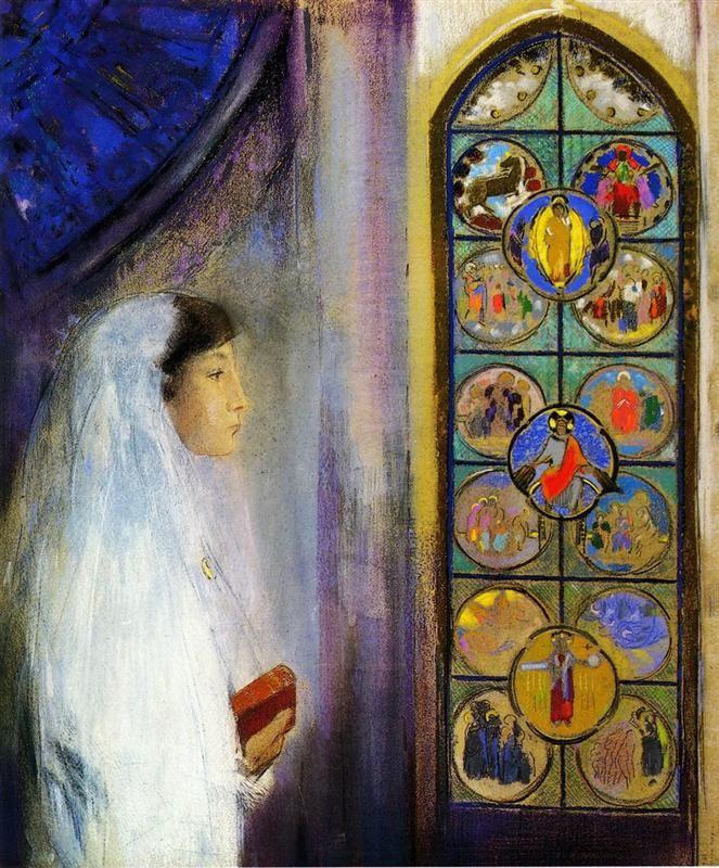 Odilon Redon「Simon Fayet」(1908)