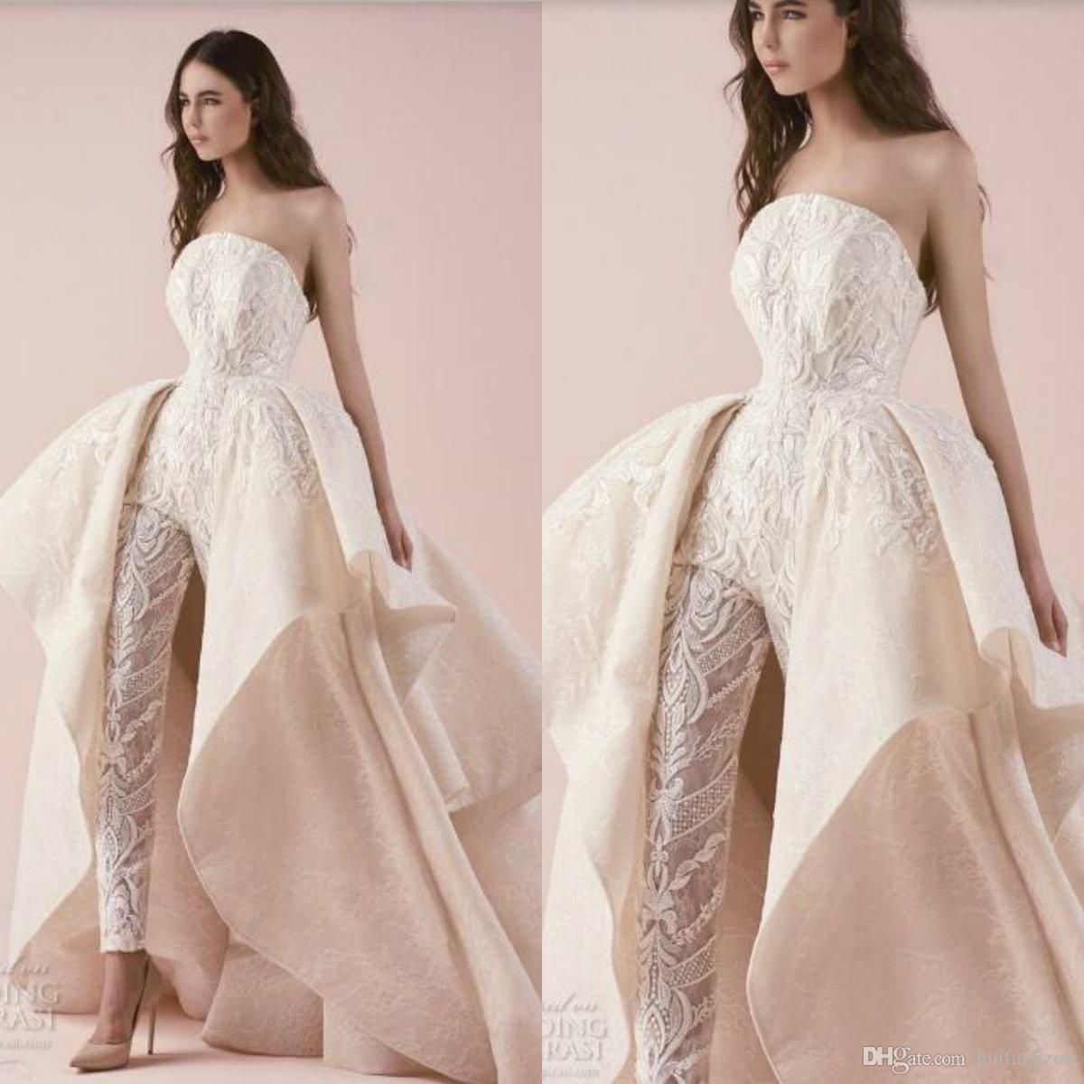 38+ Wedding jumpsuit with train plus size ideas in 2021