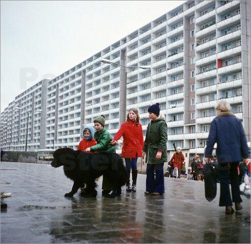 Poster DDR - Schwedt 1975