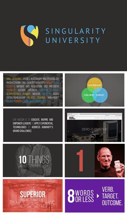 on entrepreneurship modern powerpoint presentation design for