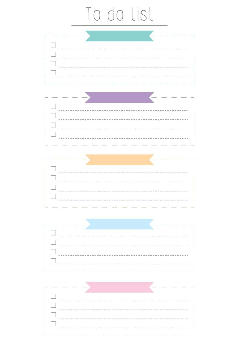 Assez Free Printable ToDo List | Planners & Bullet Journals | Pinterest  CE85