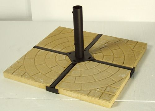 Patio Umbrella Weight With Pavers