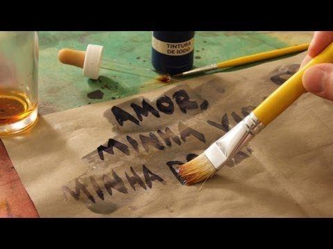 Tinta Invisivel Com Amido De Milho E Iodo Experiencia De Quimica