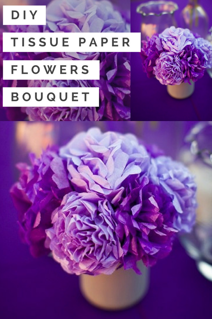 Diy tissue paper flowers bouquet tutorial wedding paper flowers diy tissue paper flowers bouquet tutorial izmirmasajfo