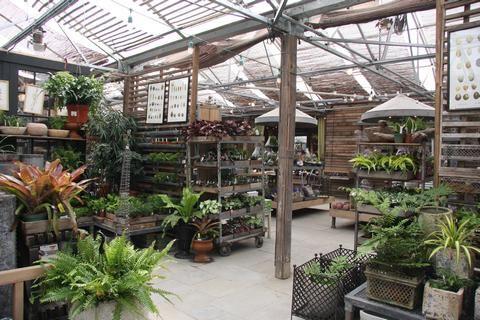 Terrain Garden Center Pergola Shade Garden Cafe Backyard