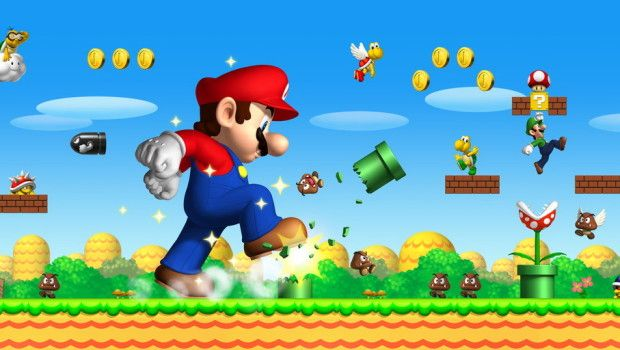 Take the #famous plumber through the levels, collecting coins, jumping on enemies and riding Yoshi! #games #free #online #supermario