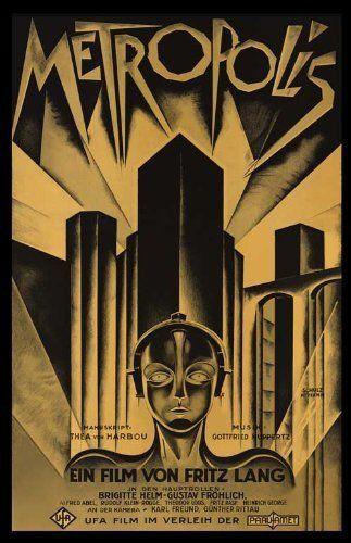 Metropolis     German Movie Posters Classic Vintage Films