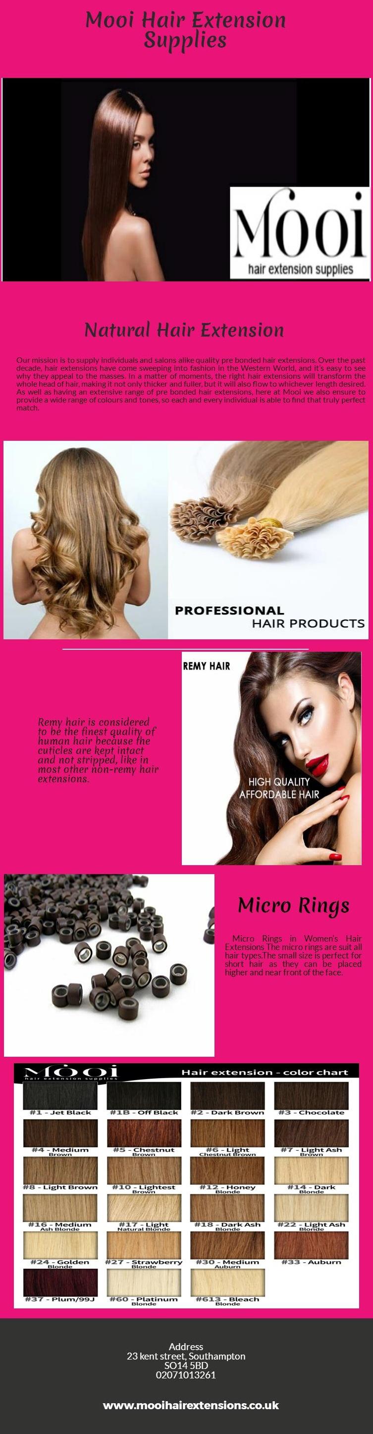 Pre Bonded Human Hair Extensions Mooi Hair Extension Supplies