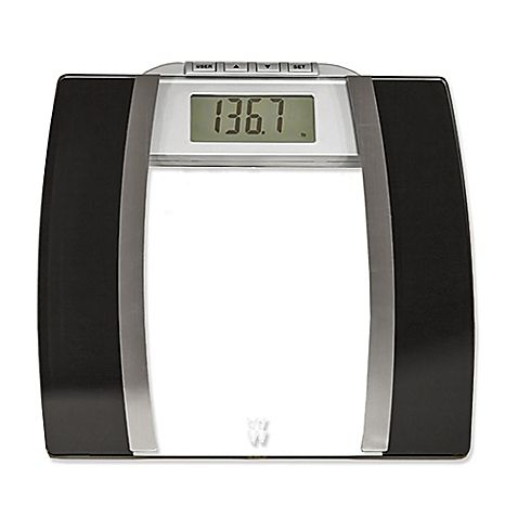 Weight Watchers Glass Body Analysis Bathroom Scale Sophomore Dorm