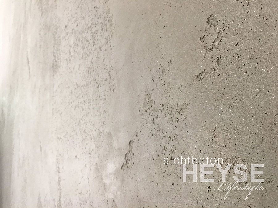 Betonoptik Wand wände in betonoptik gestaltung eines wohnzimmers und der küche