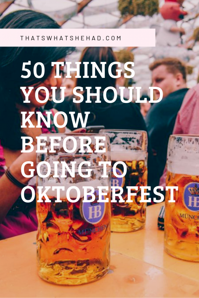 50 important things you should know before your first visit to Oktoberfest in Mu…
