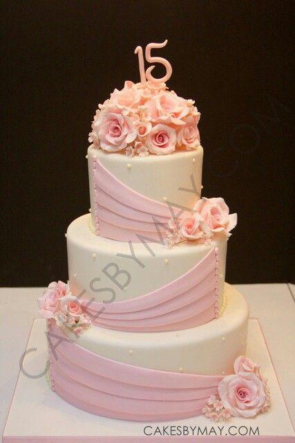 Beautiful 15 Cake