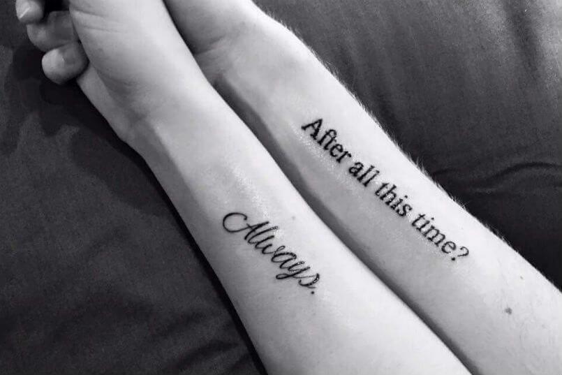 Tatuajes Para Parejas Frases Life Me Little You Pinterest
