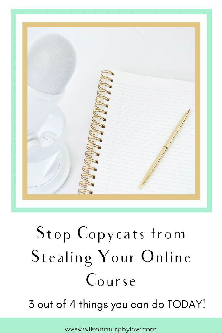How To Prevent Your Online Course From Being Stolen Online