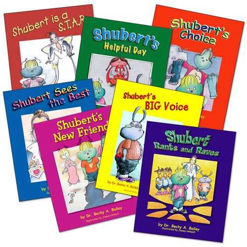Shubert Series Value Pack (Set of 7 Books) All Ages. The Shubert series is  a unique set of books designed to build c… | Discipline kids, Books,  Conscious discipline