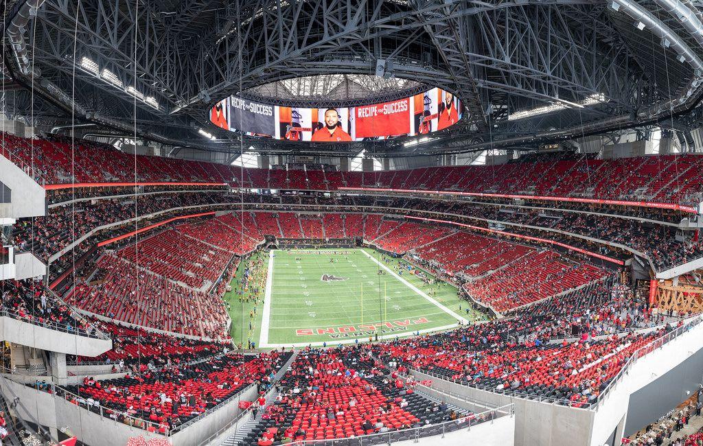 Mercedes Benz Stadium Atlanta Falcons Atlanta Falcons Stadium Atlanta Falcons Football Football Stadiums