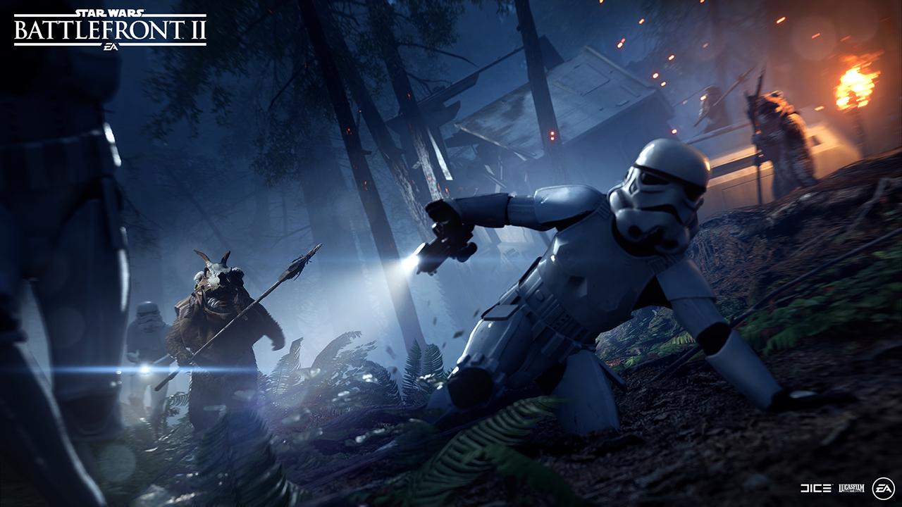 The Hunt Is On It S Ewoks Versus Stormtroopers In Star Wars