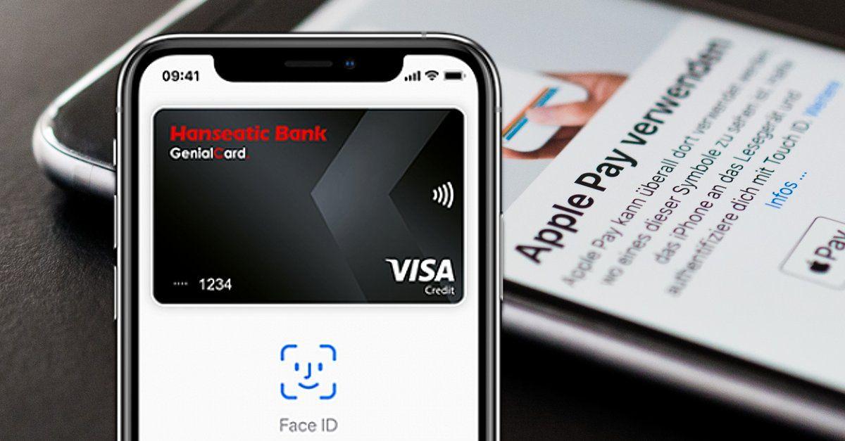 Bezahlen Mit Dem Iphone Apple Pay Mit Kostenloser Kreditkarte Und Zusatzbonus Letzter Tag Kostenlose Kreditkarte Iphone Und Mac Mini