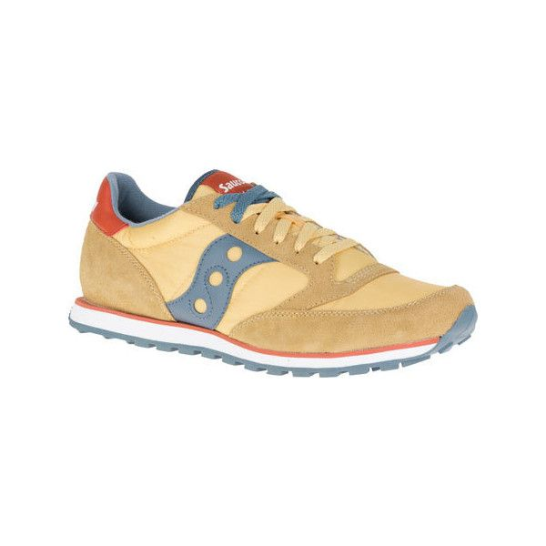 Men's Saucony Jazz Low Pro Sneaker - Mustard Athletic (4.055 RUB) ❤ liked  on Polyvore featuring men's fashion, men's shoes, men's sneakers, yellow,  mens ...
