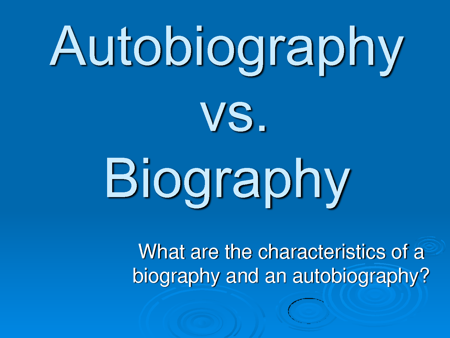 Exploring Elements Of Biography And Autobiography Lesson Plan Autobiography Writing Autobiography Biography [ 1125 x 1500 Pixel ]
