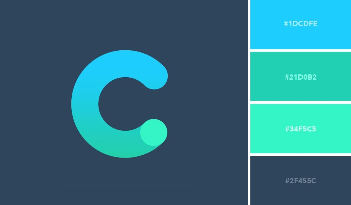 50 eyecatching logo color schemes and combinations in