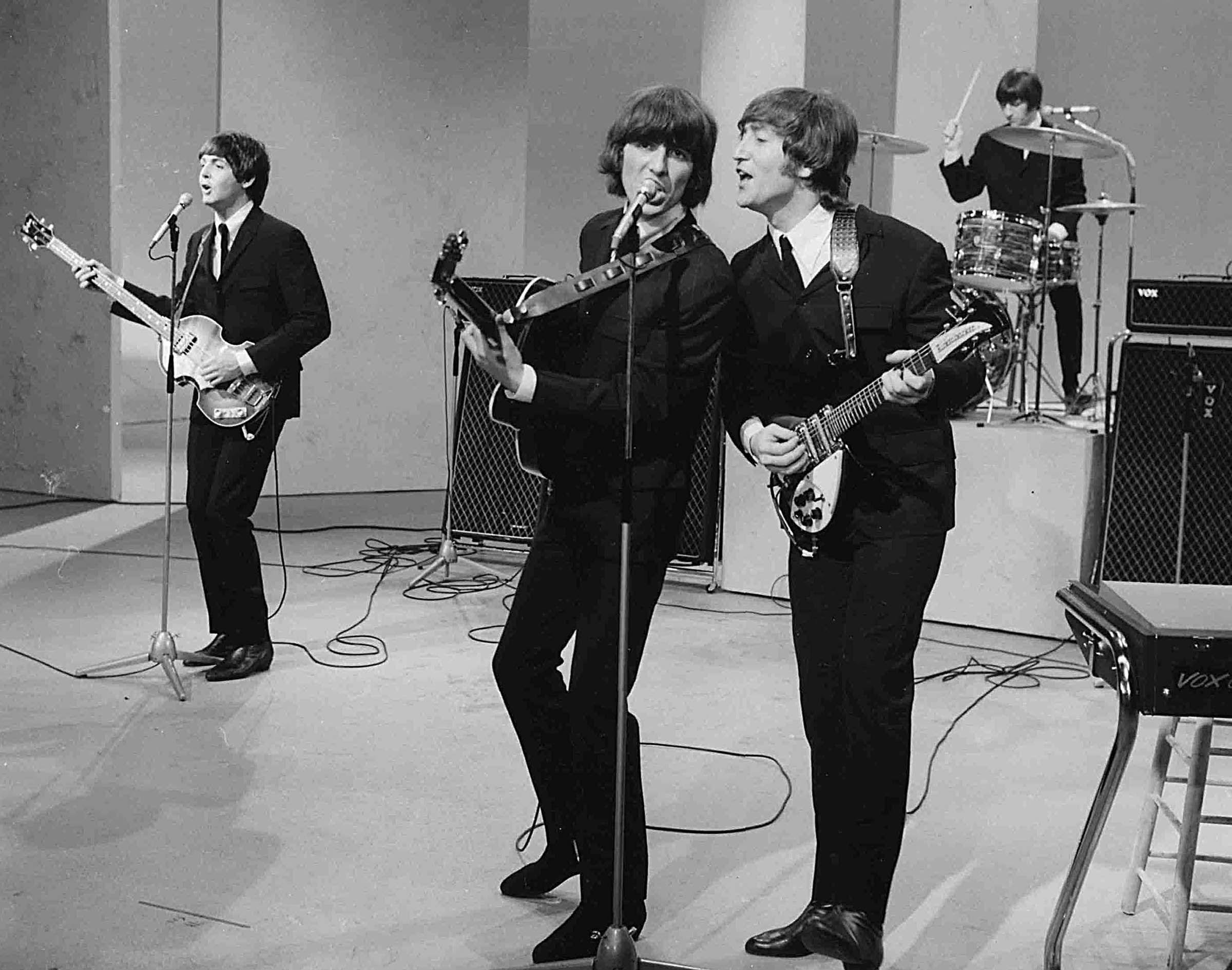 "The Beatles Ed Sullivan Appearance Photo Print  8 x 10/"""