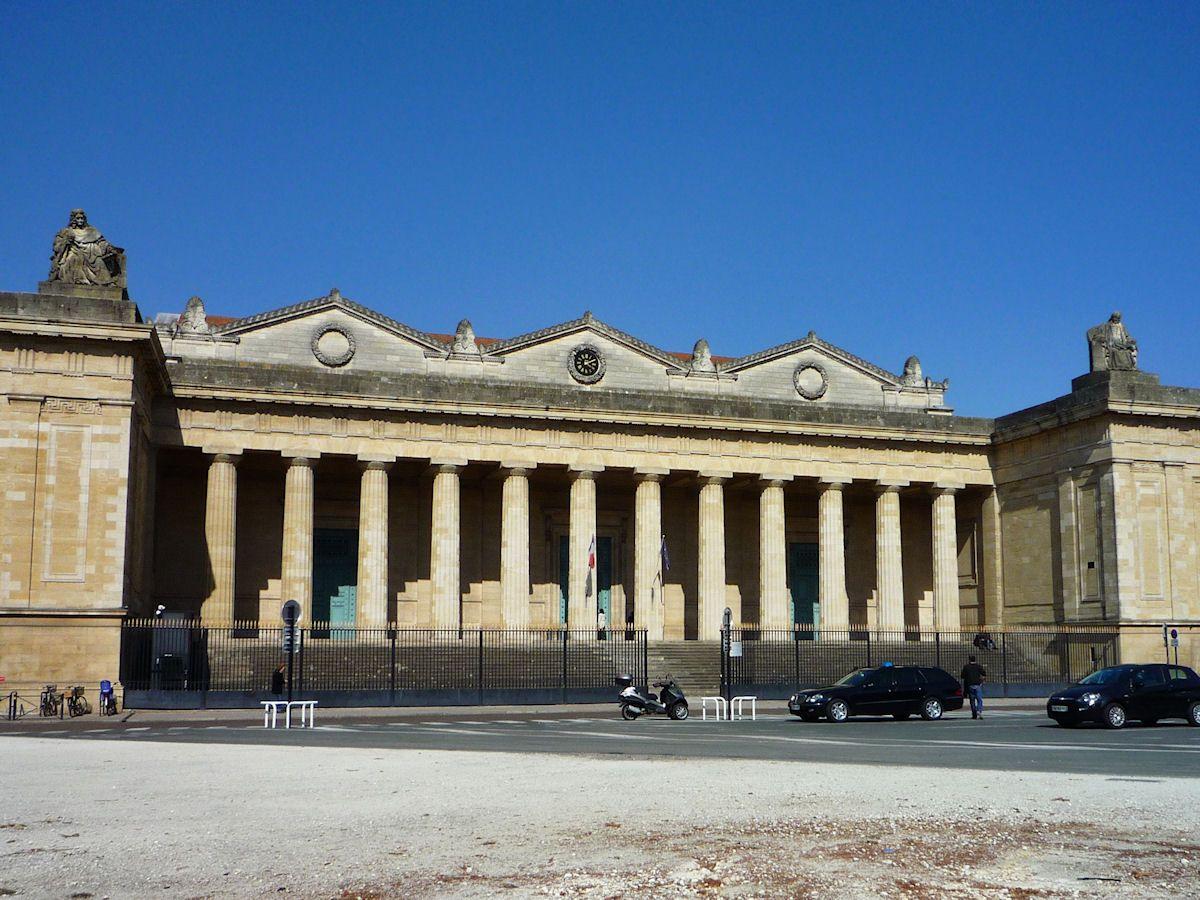 Palais De Justice Voyage A Faire Et Gironde