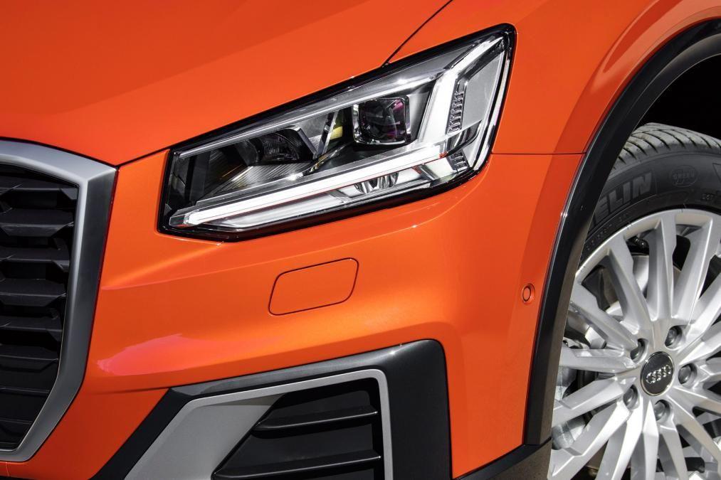 audi q2 Car headlights, Car detailing, Audi