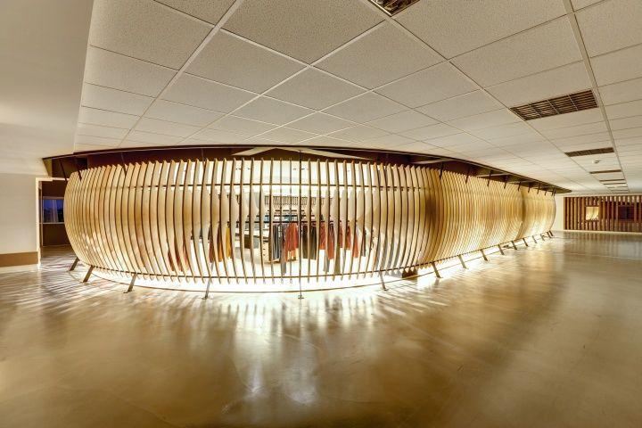 VIGOSS Textile Showroom And Design Office By Zemberek Istanbul Turkey 04