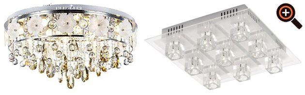 Lampe Wohnzimmer \u2013 moderne Beleuchtung mit LED \u2013 Deckenleuchten