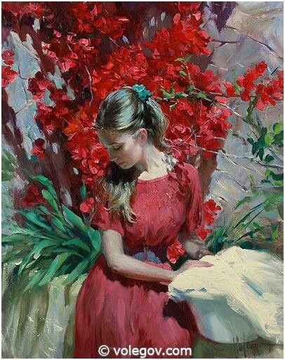 Resultado de imagen para bouganville painting volegov