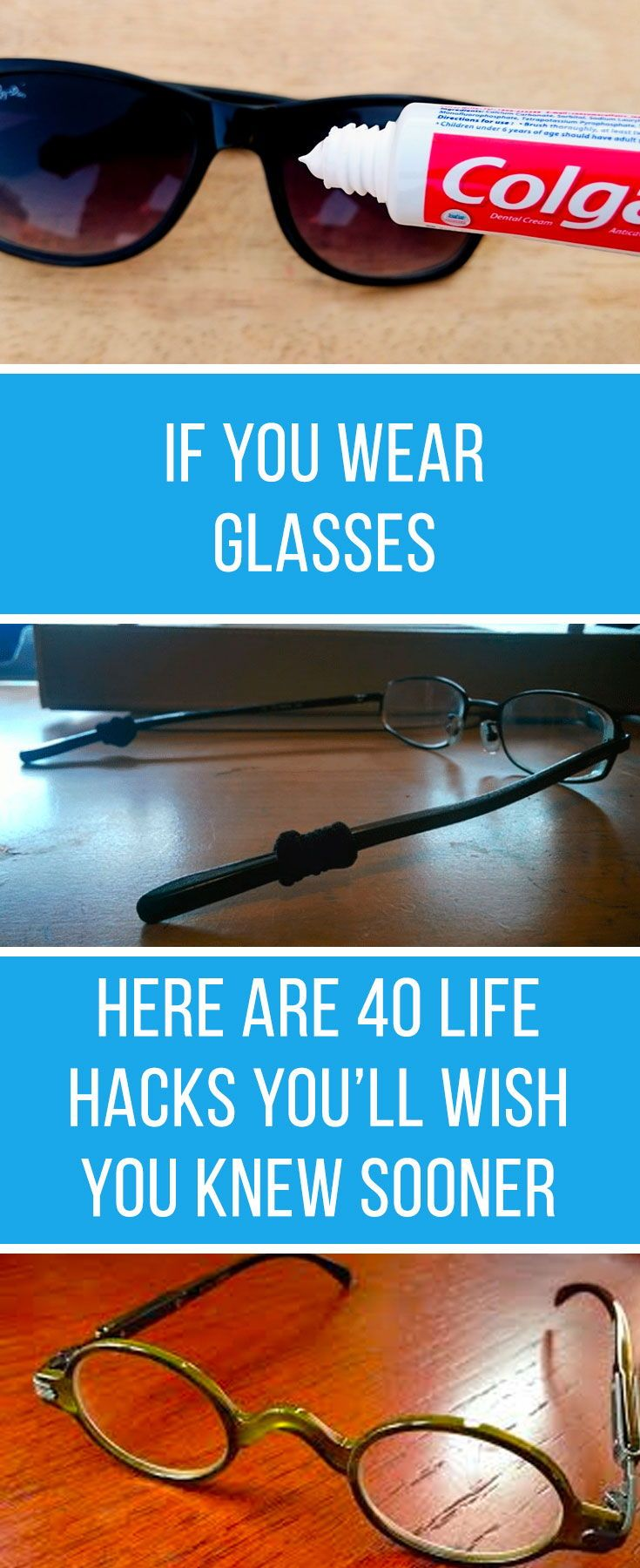 If You Wear Glasses, Here Are 40 Little-Known Life Hacks That You'll Wish You Knew Sooner