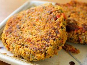 طريقة عمل برجر الخضروات Meatless Burgers Vegetarian Recipes Recipes