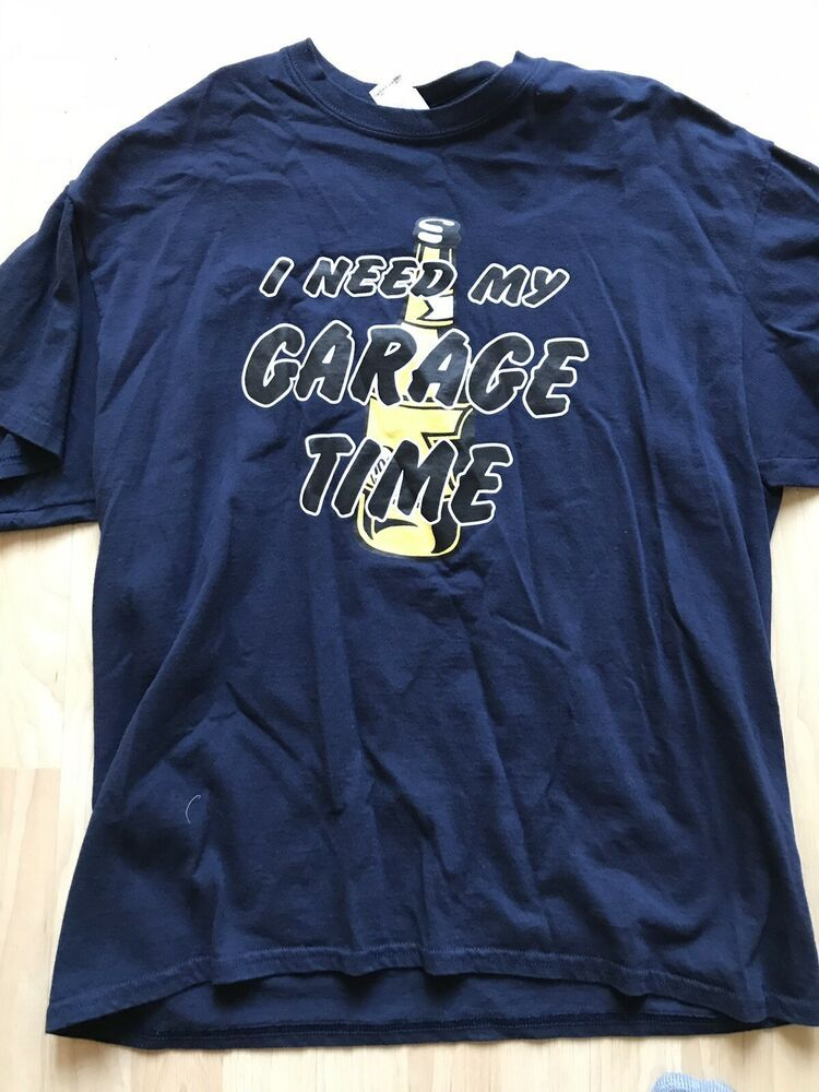 4c6c1e38 Beer Man Cave Tshirt Xl Navy #fashion #clothing #shoes #accessories  #mensclothing