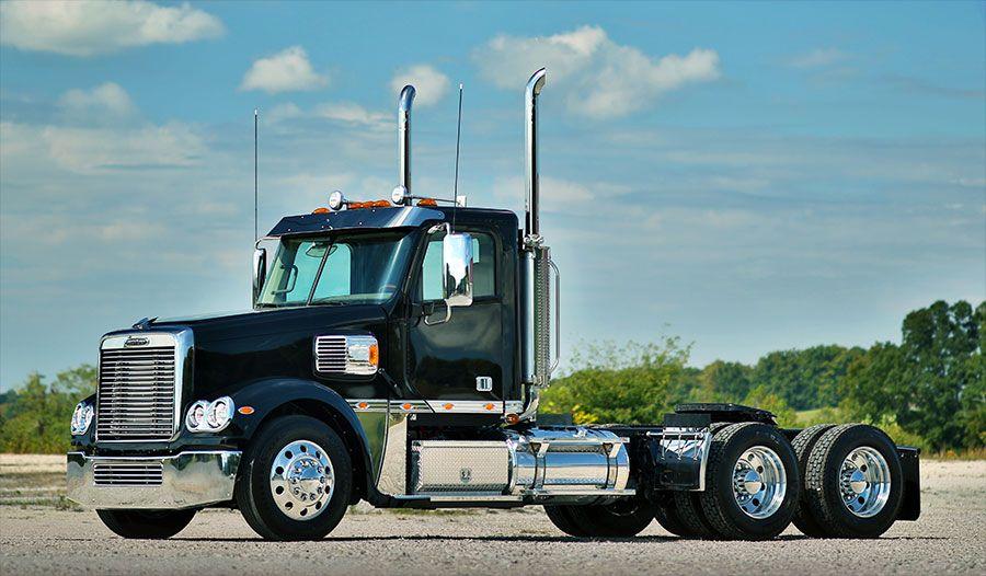 Freightliner Coronado Day Cab Fitzgerald Glider Kits Freightliner Freightliner Trucks Show Trucks