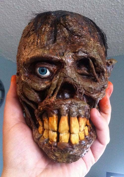 The coolest skull to make! Halloween Crafts Pinterest