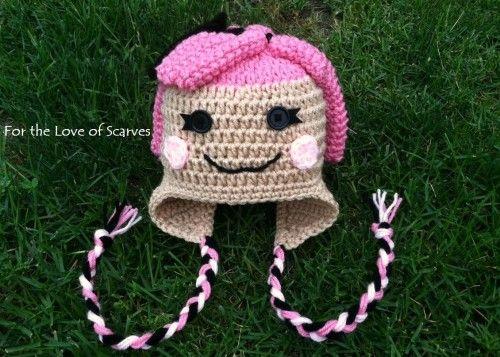 Crochet Lalaloopsy hat @michelle v   Crochet   Pinterest