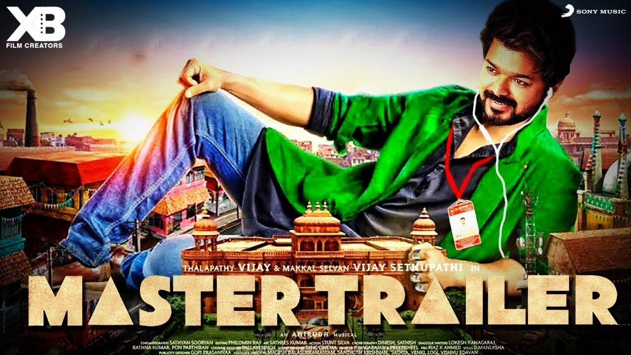 Thalapathy Vijay Starring Tamil Movie Master Teaser Out Release Date Trailer Star Cast Teaser Mtv Roadies Star Cast